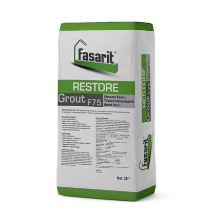 Fasarit Restore Grout F 75 Grout Harcı 25 Kg Resimi